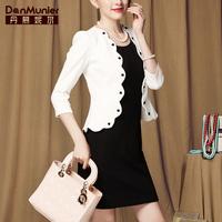 2015 spring elegant gentlewomen ol ladies blazer short design women's small suit jacket for 501 095