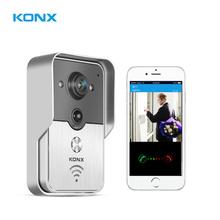 2015 IP video intercom Wifi video intercom wireless video intercom unlock from smartphones,wifi doorcamera, wifi door viewer
