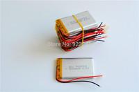 Wholesale 100pcs/Lot 503759 Li-Po 3.7V 1200mAh Polymer Lithium Rechargeable Battery For video camera MP4/5