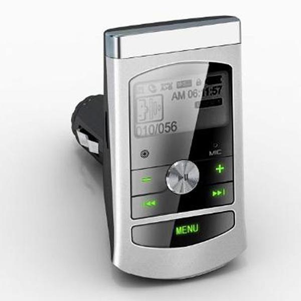 Car MP3 4G Super sound quality,Car FM transmitter,Cigarette lighter style,TF card expand,U disk&USB Interface,QC034,Car styling(China (Mainland))