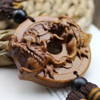 Household adornment, folk art, animal carved souvenirs, car furnishing articles, kirin beast