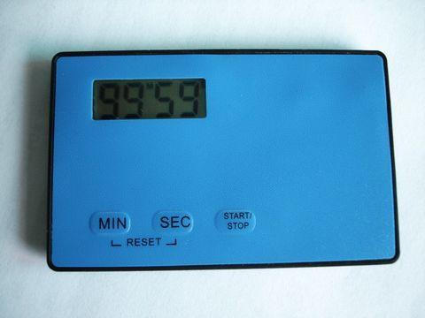 Hot selling mini credit card battery operated timer(China (Mainland))