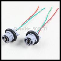 7440 T20 LED bulb socket adapters Heat Resistance connector T20 7440 LED lamp holder Wiring Harness base Socket Plug