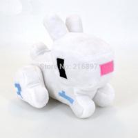13cm Minecraft Rabbit Game Plush Toys High Quality Plush Toys Game Cartoon Toys Minecraft Cartoon Game Toys