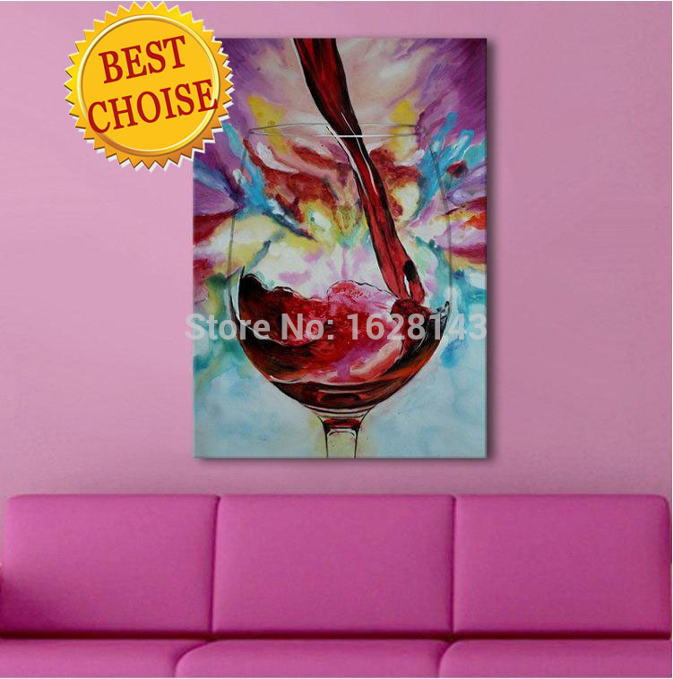 hand painted Cheap Home Decoration Modern Abstract hot sale Oil Painting on canvas living room WALL