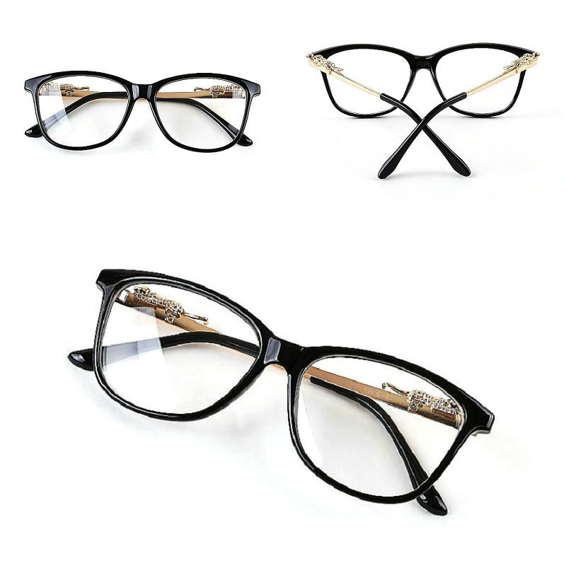 New & Hot Fashion Retro Plain Eyeglasses Full Frame School Boys & Girls Unisex Decoration Glasses Cat Eye Shape Low Price S4031(China (Mainland))