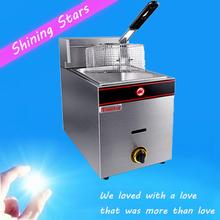 Lpg / газовая плита , колонка одноцилиндровый газа фритюрницы коммерческий печь картофель машина коммерческий