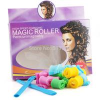 DIY new trend magic snail curler Beauty styling tools fast bun sex products escova rotativa para cabelos 18pcs/box Free Shipping