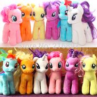 18cm Cute Size 2015 Brinquedos Cartoon Horse Unicorn Plush Toys Stuffed Animals & Plush Dolls & Stuffed Toys