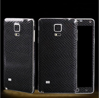 Serpentine Leather Pattern Guard Protector Film Foil Sticker For Samsung Galaxy S4