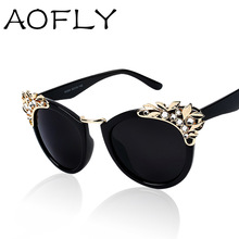 New 2015 Luxury quality Sunglasses Women Jewelry Sun glasses Flower Decoration Vintage Shades European style oculos