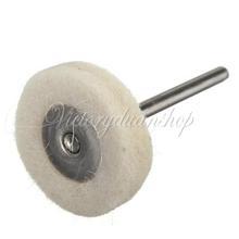 Free Shipping 5pcs/lot Mounted Buffing Wheel Watch Glass Stone Cleaning Tool Polishing Mop Cotton Buffing Repair Parts(China (Mainland))