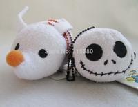 Set of 2 TSUM TSUM Jack Skellington ZERO Nightmare Before Christmas Mini Plush Toy