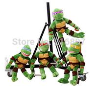 40cm Big Size Ninja Turtles 4pcs/lot the Teenage Mutant Ninja Turtles Toys TMNT