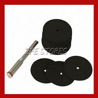 36pcs blade corundum 24x0.7mm For Dremel, Proxxon Multifunction Tools-3mm shank Free Shipping
