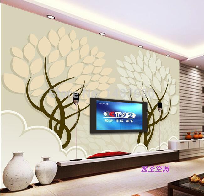 Compre qualquer tamanho grande parede 3d for Murales en 3d para salas