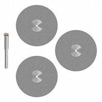 3pcs Diamond Blade 35mm For Dremel Proxxon Multifunction Tools-3mm shank