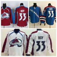 Wholesale Colorado Avalanche Jerseys #33 Patrick Roy HockeyJersey Stitched and Sewn