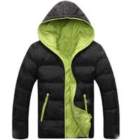 2015 Casual-Dress Men Winter Coat Fashion Color Cotton Coats Male Parkas jacket vestidos Gift Long Sleeve Dress natural