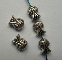 50Pcs Tibetan silver fish Charm Spacer beads 11x9x5.5mm fits European Style Bracelets Necklaces ZH4015