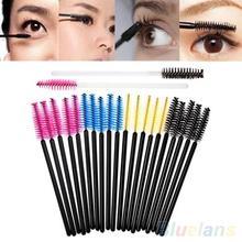 50Pcs Disposable Eyelash Brush Cosmetic Makeup Tool Mascara Wands Applicato