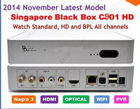 2015The Latest Version Singapore Starhub Cable TV Set top Box Blackbox c901 upgrade of HDC600 Support Nagra3 BPL+HD+standard