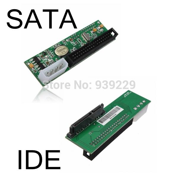 Brand New 2.5/3.5 Hard Drive Serial SATA to ATA IDE PATA Card 40 Pin Converter Adapter(China (Mainland))
