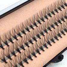 60pcs Professional Makeup Individual Cluster Eye Lashes Grafting Fake False Eyelashes