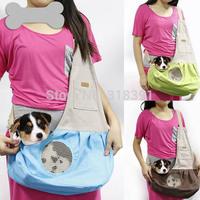 Pet dog cat fashion outdoor bag dogs cats Portable shoulder bag puppy Messenger Bag multicolor 1pcs/lot pets products bags