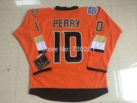 Wholesale Anaheim Ducks Jerseys 10 Corey Perry  HockeyJersey Stitched and Sewn