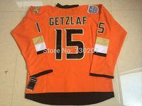 Wholesale Anaheim Ducks Jerseys 15 Ryan Getzlaf  HockeyJersey Stitched and Sewn