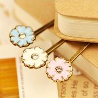 fashion elegant flower daisy hairpin hair pin clip