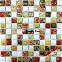 Porcelain mosaic kitchen wall tile PCMT129 ceramic mosaic bathroom floor tiles porcelain mosaic tile backsplash