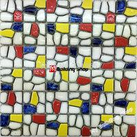 3D porcelain mosaic tile kitchen wall tiles backsplash PCMT134 bathroom porcelain floor tiles ceramic mosaic