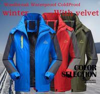 Outdoors wool liner snow jacket men's winter coat cotton hoodies for men jackets for men winter jacket outdoor jacket zipper