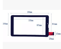 Free shipping CTD FM707101KD / TYF1176V3 / 0195-BLX / BSR043FPC / HS1275 touchscreen