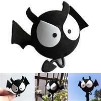 2015 New Style Hot Sale Fashion Popular Big Eyes BAT Car Antenna Topper Ball For Car Aerials Decoration