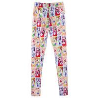 Leggins Women 2015 Fitness Sport Pants Slim Jeggins New Fashion Legging Cartoon Sailor Moon Family Printed Leggings S106-640