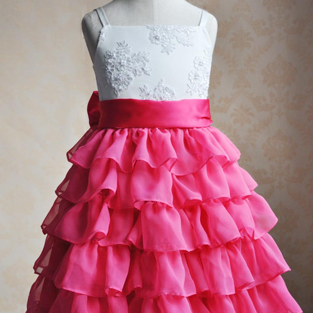 Vestido vestido da menina flor fotos de estúdio adereços crianças princesa(China (Mainland))