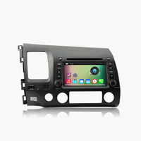 Pure Android 4.4 Car DVD Player For Honda CIVIC Left Hand Driving 2006~2011 with Capacitive Screen