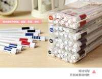 12pcs/set Brand New Gel Pens SCM V1352 Navy Style Pattern 0.38mm Core Cool Gel Pen For Office/School/Kids -Free Shipping