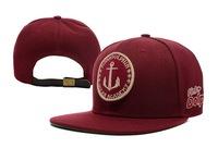 New arrival Pink Dolphin snapback hat Ocean Academy anchor design baseball cap popular bone gorras