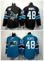 Stitched San Jose Sharks #48 Hertl Ice Hockey Jerseys Stitched and Sewn