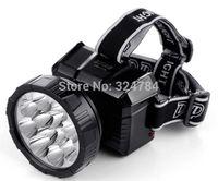 The amount of LED charging long-range headlight glare long night fishing fishing outdoor hunting wearing miner's lamp flashlight