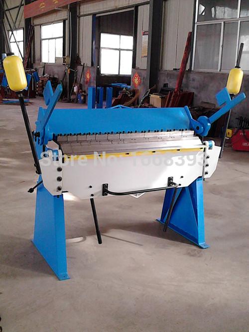 1220*2.5mm hand brake sheet metal brakes bending machine pan and box folding machinery tools(China (Mainland))