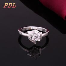 R379  Panduola Brand rings for women unite trend skull ring lady white tungsten ring