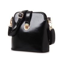 Women's Leather Handbags Lock  Brand Designer Shoulder Bag Girls Crossbody Messenger Bag 6036