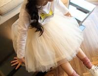 wholesale(5pcs/lot)-spring skirt for 2-7 child girl