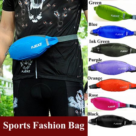 Outdoor Sports Cycling Running Waist Pack For Men Women Fanny Pack Bum Bag Hip Money Belt Travelling Mountaineering Fishing Bag(China (Mainland))