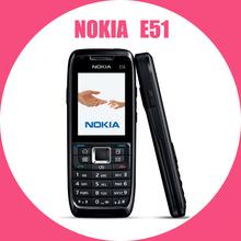 Original Nokia E51 Mobile Phones WIFI Bluetooth JAVA Unlock Cell Phone Free Shipping